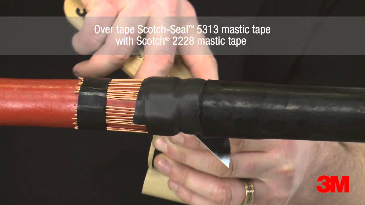 3m Standard Mv Cold Shrink Joints With Taped Electrode