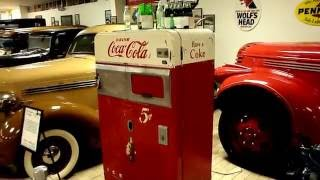 A Vintage 1950s Coca Cola Machine