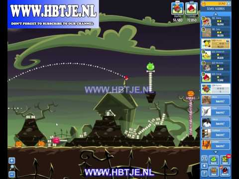 Angry Birds Friends Halloween Tournament Level 3 (tournament 3) no power-ups