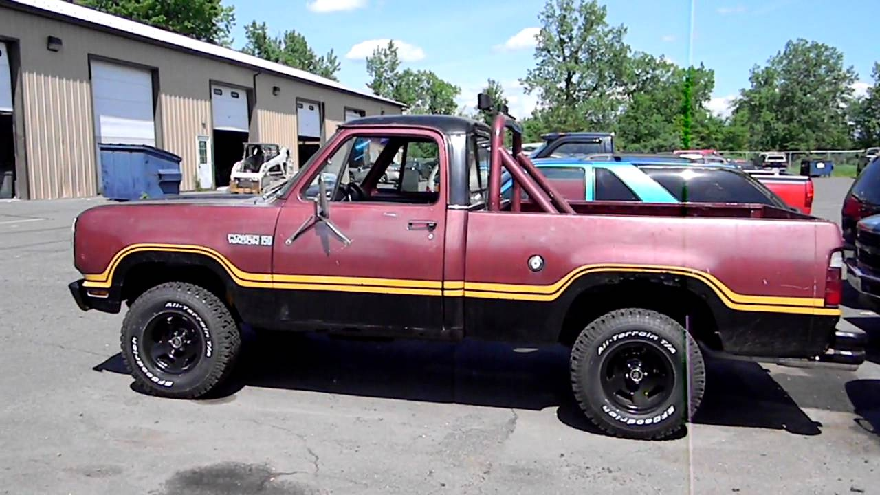 Jeep Mj Build The Paint Job as well 2019 Ram Power Wagon Unlimited Power in addition Machopowerwagon additionally 1974 Dodge Ramcharger 10 in addition Watch. on 1979 dodge macho power wagon