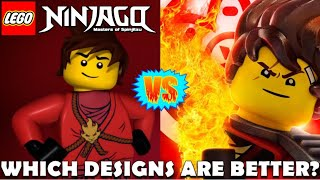 Ninjago Movie & Post-movie Designs Vs. Original Designs: Which Are Better?