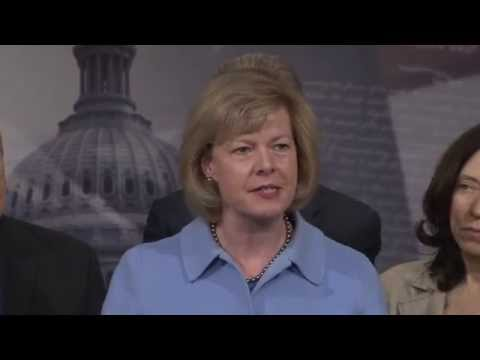 April 9, 2014: Senator Baldwin and Senate Democrats on Paycheck Fairness Act