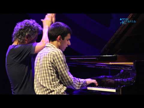 The Chick Corea Trio with Christian McBride and Brian Blade. Special Guest Beka Gochiashvili online metal music video by CHICK COREA