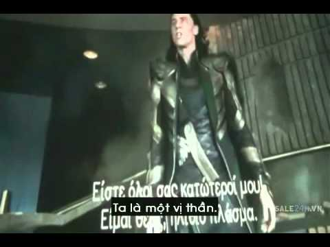 Thuật lại trận chiến giữa người khổng lồ xanh và Loki.flv