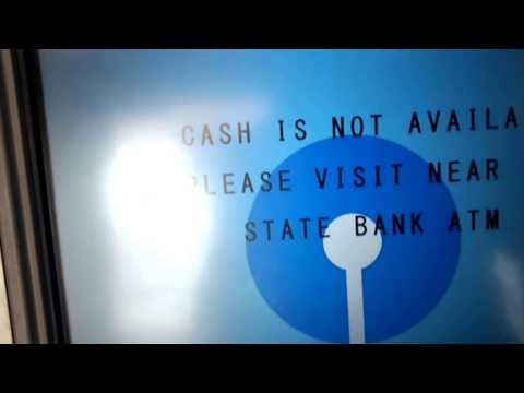How to withdraw Money from ATM (State Bank of India) (ATM का प्रयोग कैसे करे)