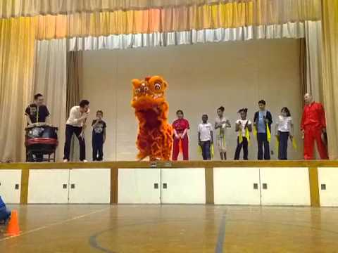 Sunny Tang Martial Arts School Show - PART 2 of 2 - LION DANCE