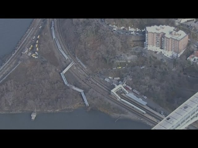 Passenger train derails in New York: Four dead, 63 injured