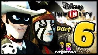Disney Infinity Wii U Walkthrough Lone Ranger Part 6