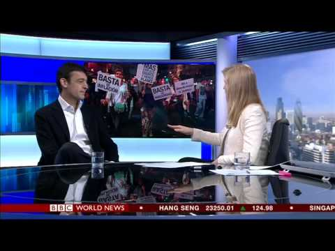 Alice Baxter - Interview on Argentina Vs IMF, BBC World News