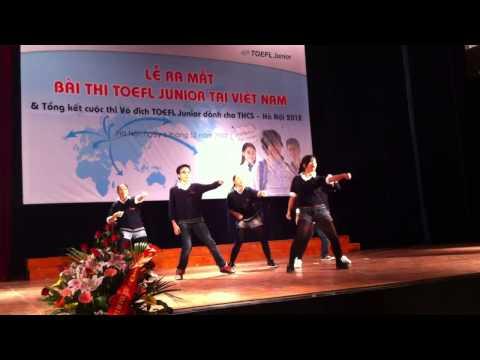 Màn nhảy hiện đại của nhóm BGS For Teen 14 (khối 8) - trường Quốc tế Wellspring