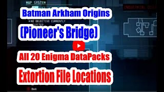Batman Arkham Origins (Pioneer's Bridge) All 20 Enigma