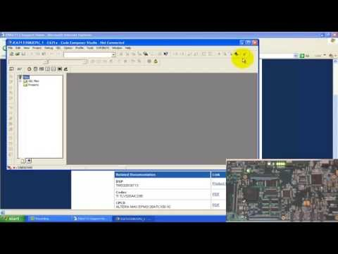TMS320C6713 DSK Quick setup and Test example programs - Lecture 2 (Digital Signal Processing)