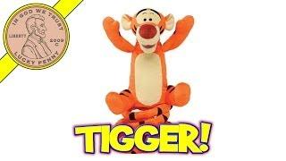 Disney Turbo Tail Tigger Bouncing, Jumping & Singing