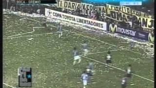 Boca 3 Gremio 0 Copa Libertadores 2007 (Resumen Completo