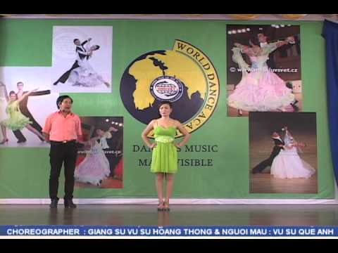 RUMBA - VU SU HOANG THONG ( RUMBA LINE DANCE LEVEL 1 ) LM: VS QUE ANH .avi
