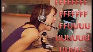 EVEN GIRLS RAGE! Gun Game Knifing Only w/ funny Reactions