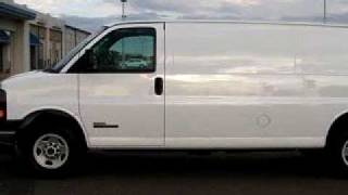 SOLD - 2006 GMC Savana Cargo 3500 80504 Hajek Chevrolet videos