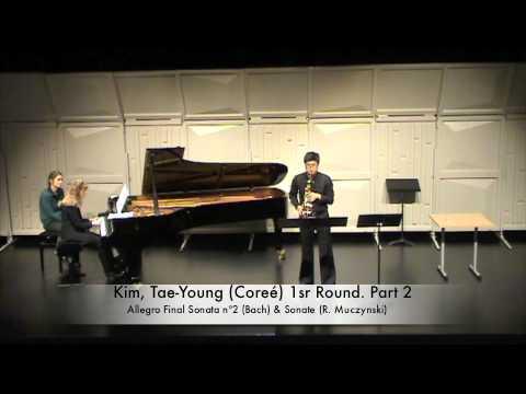 Kim, Tae Young Coreé 1sr Round Part 2