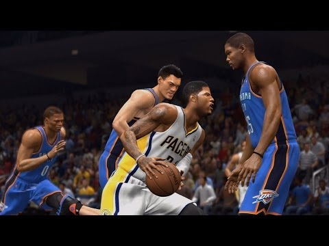 NBA Live 14 PS4 - Oklahoma City Thunder vs Indiana Pacers - 2nd Qrt - HD