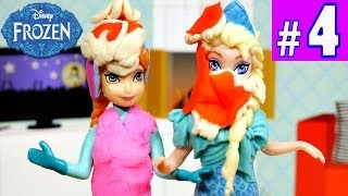 FROZEN Elsa And Anna's Road Trip PLAY DOH Food Fight