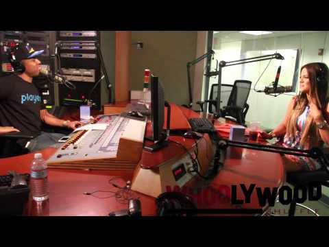 KHLOE KARDASHIAN vs DJ WHOO KID on the WHOOLYWOOD SHUFFLE at SHADE 45