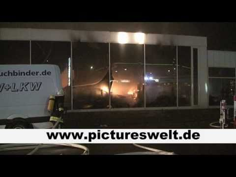 brand bei der bmw niederlassung in saarlouis youtube. Black Bedroom Furniture Sets. Home Design Ideas