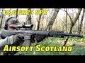 Airsoft War The Fort, Scotland G&G GR25
