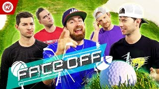 Dude Perfect Office Golf Challenge | FACE OFF