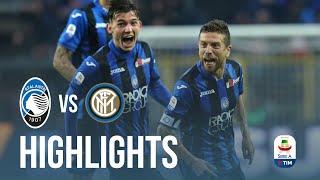 12ª Serie A TIM   Atalanta-Inter 4-1   Highlights