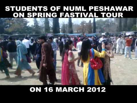 Spring Festival In NUML 2012 By Ahmad Khan Billitang Kohat 2nd part