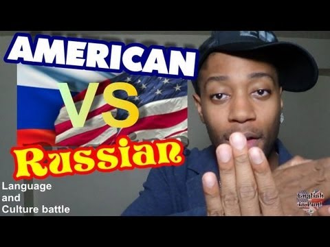 American English vs Russian