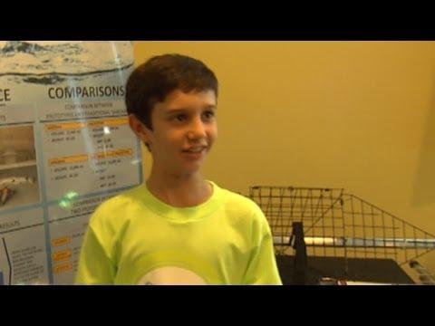 Sixth-Grader Peyton Robertson Wins $25,000 for His Innovative Sandbag Design
