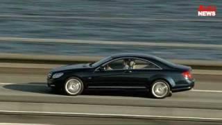 Der neue Mercedes CL: Sparsamkeit in der Luxus-Klasse videos