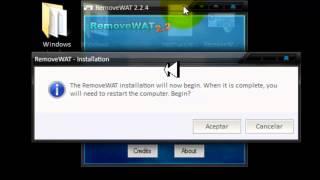 Activar Windows 7 Cualquier Versión RemoveWAT