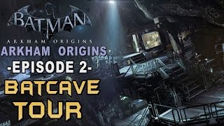 Batman: Arkham Origins Walkthrough Part 2 The Batcave