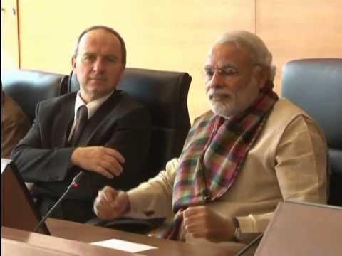 Shri Narendra Modi interacting with students from Germany