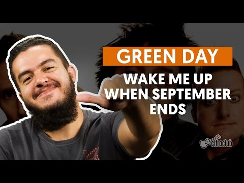 Wake Me Up When September Ends - Green Day (aula de violão completa)