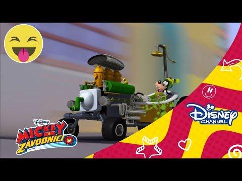 Mickey a závodníci - Goofyho bubliny