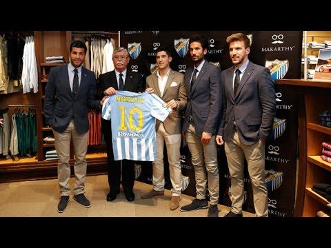El Málaga CF se pone guapo con Makarthy