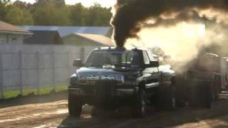 Dodge Ram 3500 Dually 24V Cummins Pure Diesel Power Pull