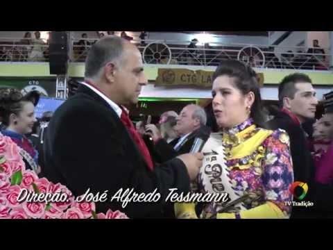 Entrevista com a 1ª Prenda do RS Roberta Jacinto - 18ª RT