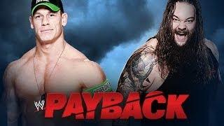 John Cena Vs. Bray Wyatt WWE Payback 2014 WWE 2K14