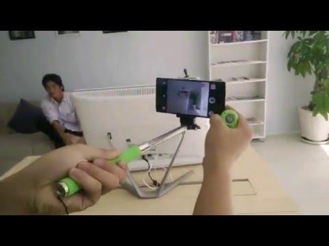 Hướng dẫn kết nối gậy tự sướng MonoPad với điện thoại OPPO