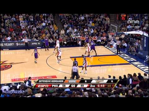 Phoenix Suns All Field Goal Highlights vs GS Warriors (2009.03.15)