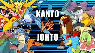 Battle of the Regions (KANTO vs JOHTO) - Pokemon Battle Revolution (1080p 60fps)