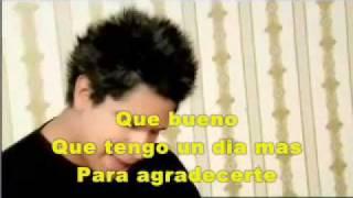 """""""Un Dia Mas"""" Daniel Calveti (Karaoke Pista)"""