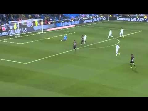 Gareth Bale Amazing Second Goal ~ Real Madrid vs Rayo Vallecano 4-0 ~ 29/03/2014