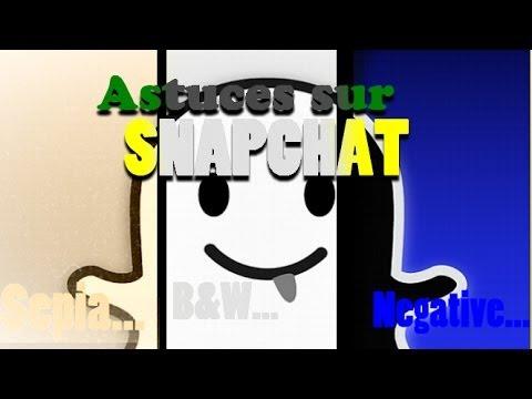 Quelques Astuces Sur Snapchat !