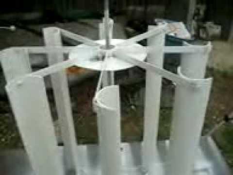 Discuss Build vertical wind turbine