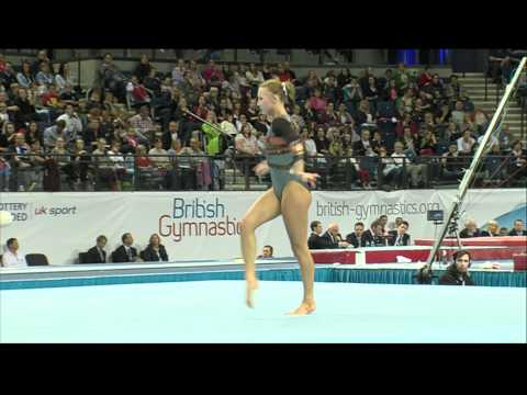 Imogen Cairns - Floor - British Championships 2012 - Apparatus Finals